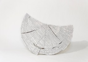 Clair de Lune - N&B n°66 - 35 x 26 cm - acrylique sur pin - © Annie Thérie