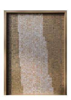 Géométrie - 120 x 165 cm - acrylique sur carton - © Annie Thérie
