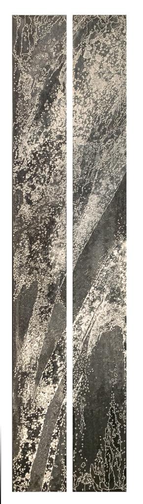 ÉIONÉ - dyptique 25cm1m